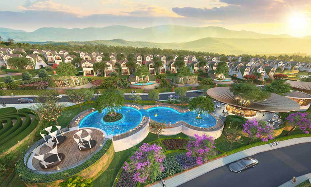 Tổng hợp các dự án đất Bảo Lộc có suối
