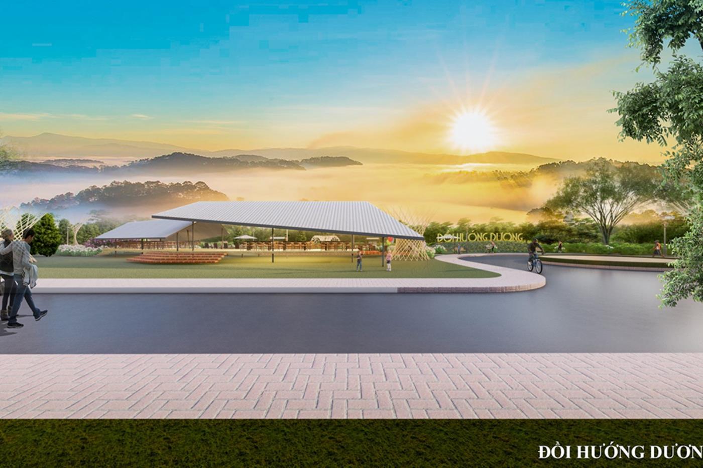 Tầm nhìn tuyệt đỉnh từ Sunflower Hill