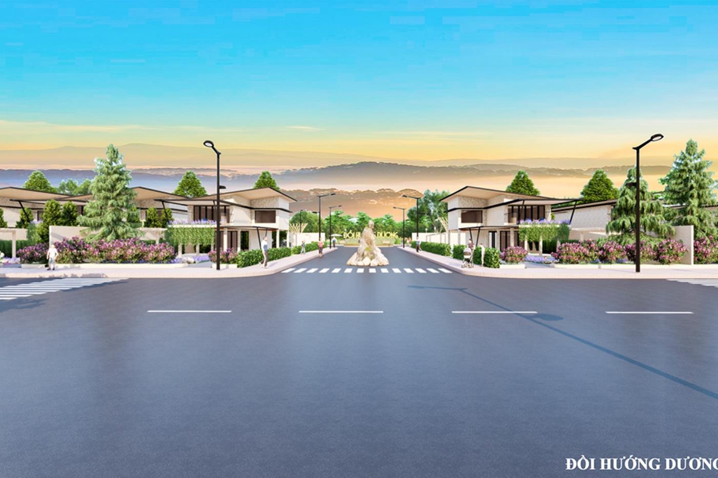 Sunflower Hill mang lại một không gian nghỉ dưỡng mới tại Bảo Lộc
