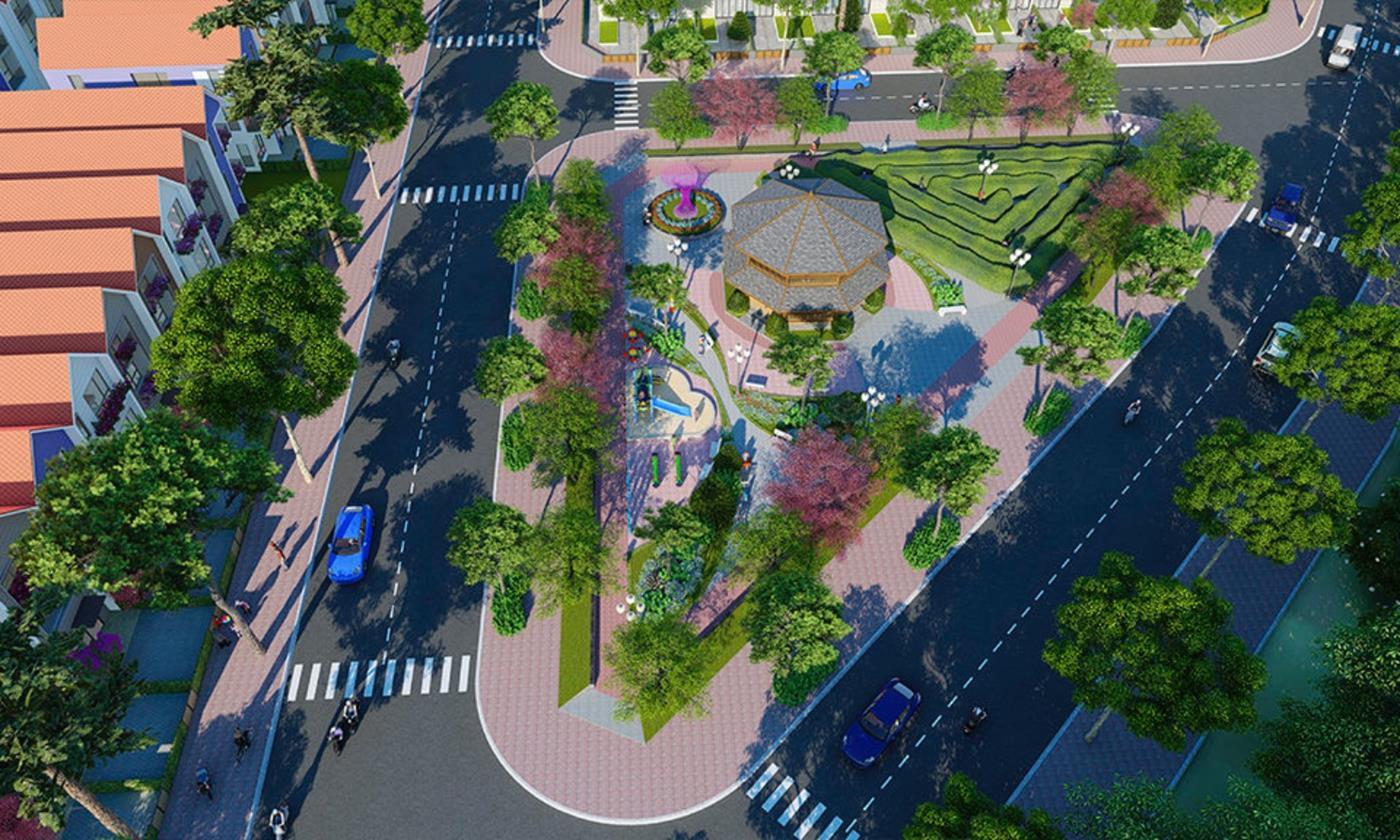 Công viên nội khuBảo Lộc Golden City