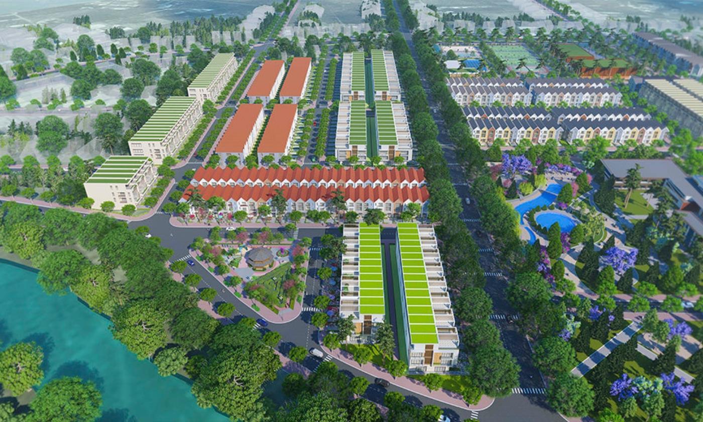 Tổng thể khu đô thị Bảo Lộc Golden City