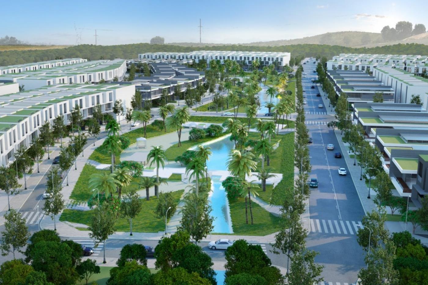 Tổng thể khu đô thị Bảo Lộc Capital