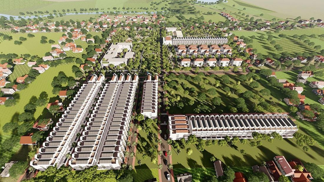 Phối cảnh khu dân cư Bảo Lộc Park Hill